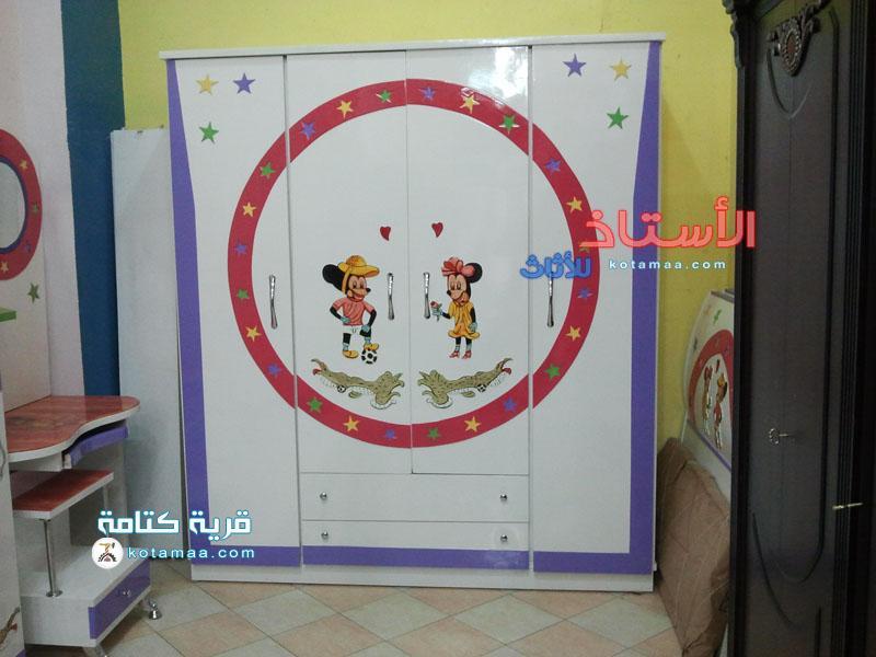 غرف نوم اطفال ابيض