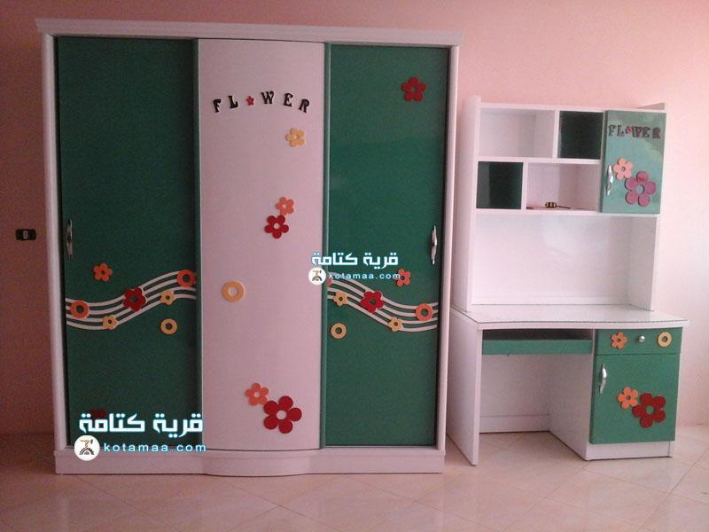 غرف نوم اطفال الورده (1)