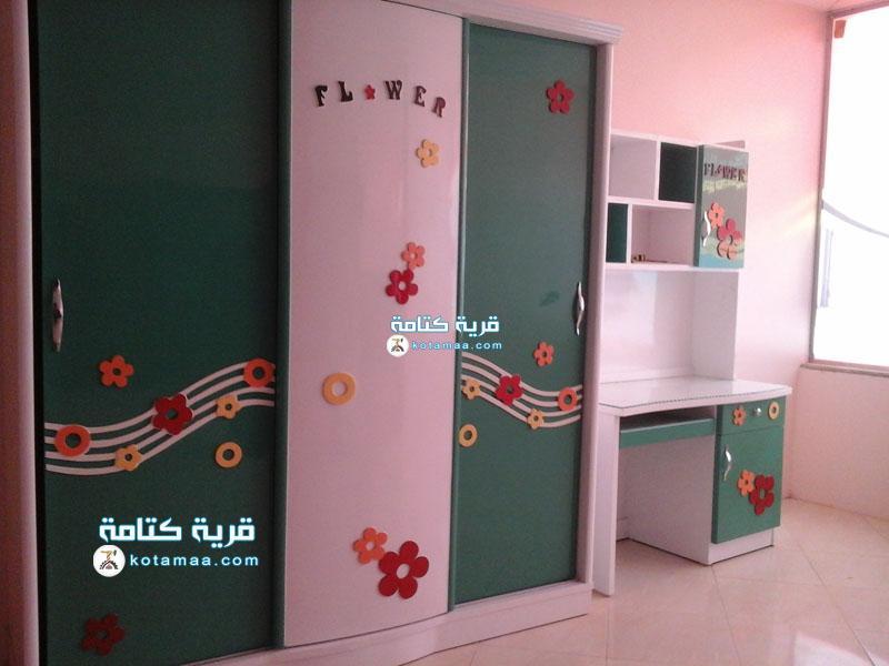 غرف نوم اطفال الورده (2)