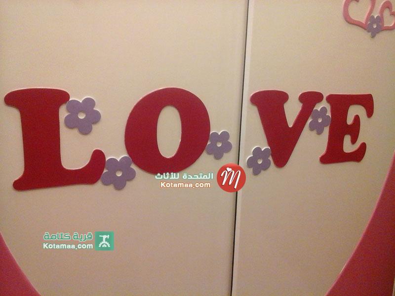 غرف نوم اطفال love جديدة (2)