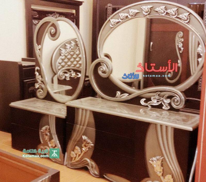 غرف نوم جرار اللوتس فضى (4)
